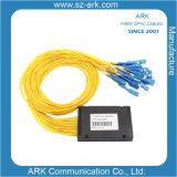 La fibra óptica PLC Splitter (Telecom, FTTH, CATV)