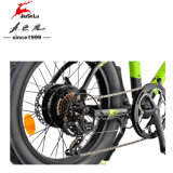 """20台の""""折らない36Vリチウム電池の広いタイヤの電気バイク"""