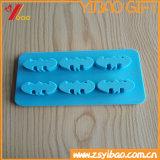Поднос кубика льда силикона Whosale изготовленный на заказ цветастый