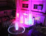 Новый популярный крытый или напольный фонтан воды танцы нот сада