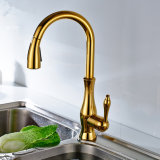Flg Kitchen Faucets Sanitary Ware Kitchen Robinets en fonte d'or