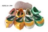 夏の子供の靴