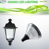 50W LED Garten-Licht-Pfosten-Oberseite-Himmelskörper-im Freienbirnen-Lampen-kühles Weiß