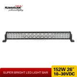 """barra ligera de 26 """" 152W LED con la viga combinada de la fila de la mezcla"""