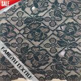 Grande tessuto squisito del merletto del fiore per il vestito