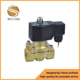 Válvula electromagnética de flujo del agua neumática de alta presión del control
