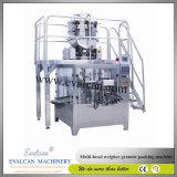Maquinaria seca automática del envasado de alimentos