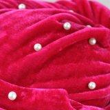 Enveloppe perlée de tête de turban de mode pour des femmes