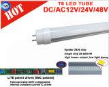 Cer RoHS Ra>80 PF>0.9 1.2m 18W T8 LED Gefäß-Lichter