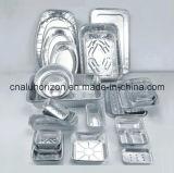 Bandeja de papel de alumínio para assar quente