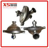 Válvula de pressão constante pneumática sanitária do aço inoxidável