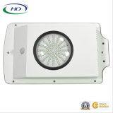Ce y jardín del certificado 6W LED de RoHS/luz de calle solares integrados