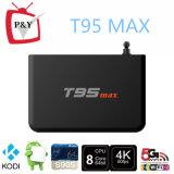 T95max 금속 상자 2GB/32GB T95 최대 Amlogic S905 쿼드 코어 Andorid 5.1 텔레비젼 상자 2.4G/5GHz WiFi Bt4.0from P&Y