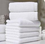 浴室のためのカスタム柔らかく明白な白の100%年の綿のホテルタオル