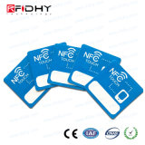 Etiqueta Engomada del Megaciclo RFID NFC del Teléfono Celular 13.56 para los Media Sociales