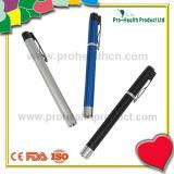 Interruptor LED con clip Penlight médico (pH09-092) del tacto del clip