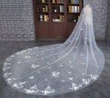 Вуаль оптового венчания Bridal длинняя с чувствительным шнурком
