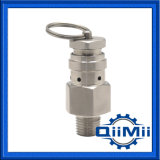 """1/4 """" Mini-Tipo válvula de descarga de presión AISI304/316L de la cerveza del NPT"""