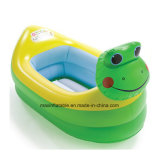 개구리 헤드를 가진 수영장과 목욕 공구 팽창식 욕조가 PVC에 의하여 농담을 한다