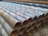Tubo de acero del tránsito Q235 SSAW de la tubería
