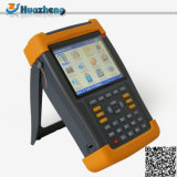 Pouvoir portatif de matériel électrique multifonctionnel de mètre et analyseur d'harmoniques