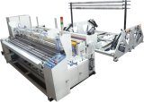 Rebobinado automático de rollo de papel higiénico Jumbo que hace la máquina / máquina rebobinadora Jrt