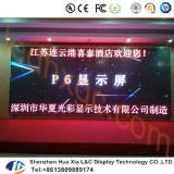 P6 pantalla a todo color de los acontecimientos deportivos LED