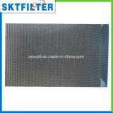 Moldura de alumínio plissado moldura de nylon