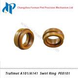 Кольцо PE0101 свирли набора потребляемых веществ газового резака плазмы Trafimet A101/A141
