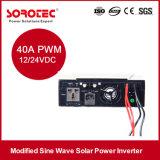 1kVAによって修正される正弦波インバーター、40A太陽コントローラが付いている格子太陽インバーター