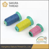 Cuerda de rosca reflexiva visible durable del bordado de Sakura alta con Oeko-Tex 100