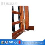 Porte en aluminium Windows de profil avec l'écran de mouche