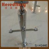 Poste de clôture en verre en acier inoxydable pour barrière en verre d'escalier (SJ-H5064)