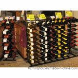 Flaschen-Speicher-Bildschirmanzeige-Wein-Zahnstange des Einzelhandelsgeschäft-Metallfußboden-27