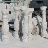 صنع وفقا لطلب الزّبون صوّان حجارة درابزين لأنّ خارجيّ رواق أو حديقة
