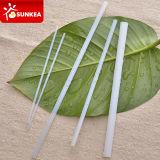 Plastica biodegradabile ecologica che beve la paglia di PLA