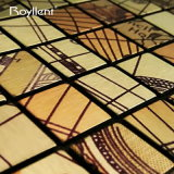 Do mosaico metálico da decoração dos globos da etiqueta DIY da parede de Royllent cor misturada