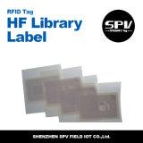 Tag personalizado da biblioteca da freqüência ultraelevada do estrangeiro H4 do logotipo
