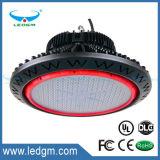 La lampada industriale IP65 di illuminazione del UFO Highbay impermeabilizza 130lm/W Dimmable 200W 150W 100W 80W