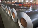 A bobina de aço galvanizada exata da lantejoula zero de Dx53D Z100, zinca bobina de aço revestida
