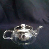 [200مل] [هندبلوون] [هت-رسستينغ] زجاجيّة شاي إناء مع [س]