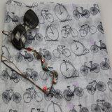 Lenço de Motobike da impressão, xailes do Voile do acessório de forma das meninas
