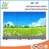 55 Zoll-schmale Anzeigetafel LCD-videowand-Bildschirm mit Controller (MW-553VCC)