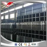 Sección hueco negra formada caliente según el tubo de acero cuadrado de En10210 S355jr y el tubo de acero rectangular