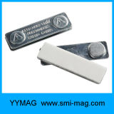 주문을 받아서 만들어진 로고를 가진 형식 디자인 자석 일류 기장