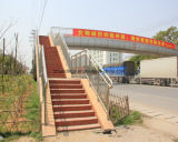 Edificio prefabricado del marco de la estructura de acero de China