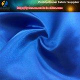 Tela de poliester, tela de seda brillante del satén, tela existente del vestido de 500 colores (carta de color 2)