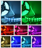 Luz de tira amplamente utilizada do diodo emissor de luz do comprimento SMD5050 60LEDs/M RGB de Customzied