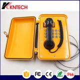 Teléfono industrial impermeable de la ayuda del SIP del teléfono del teléfono Emergency del carbón