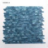 Ecologisch Mozaïek van de Tegel van het Glas Backsplash van het Bouwmateriaal het Blauwe